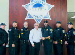 Highland Police Raise Funds for The Cancer Resource Centre