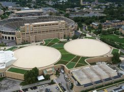 Notre Dame Installs Largest Green Roof in Indiana