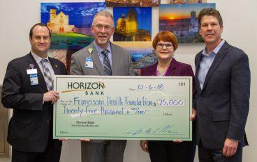 Horizon Bank and NIPSCO Donate to New Hospital