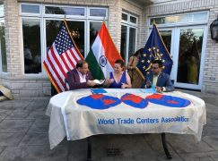 WTC Indianapolis Signs Partnership with World Trade Center Pune