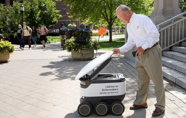 Purdue University Welcomes Delivery Robots