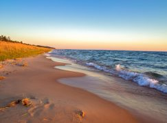Governor Pledges Support for Eroding Lake Michigan Shoreline