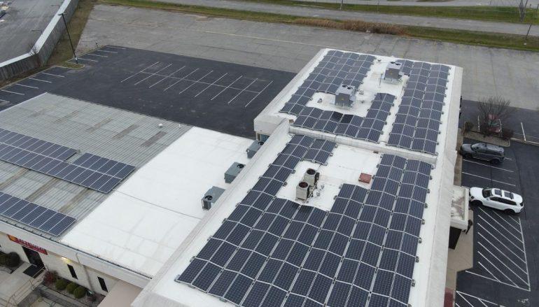 Jeffersonville Tech Center Goes 100% Solar