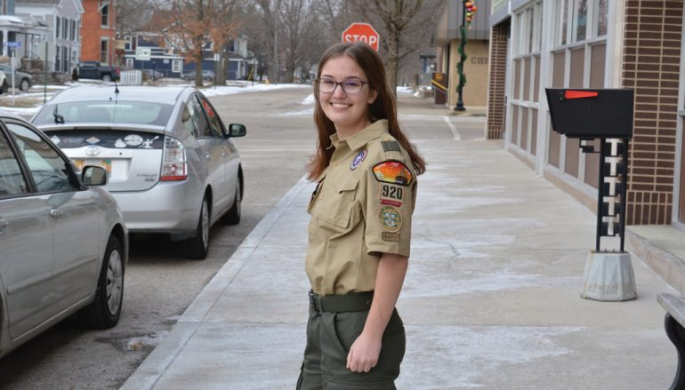 First Female from BSA LaSalle Council Earns Eagle Scout Status