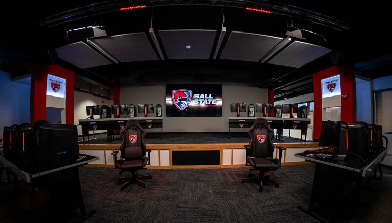 Ball State Opens New Esports Center