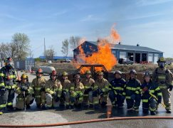 Fire Training Academy Graduates 12 Firefighters