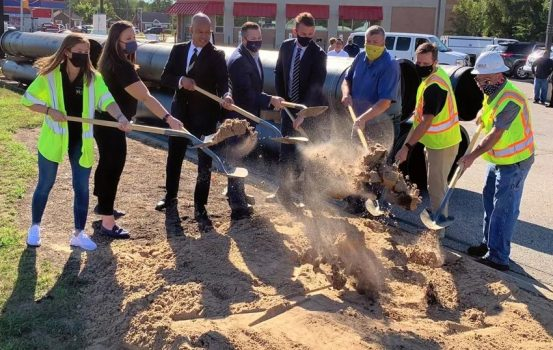 Ground Broken for $24.5M Water Main Replacement Project