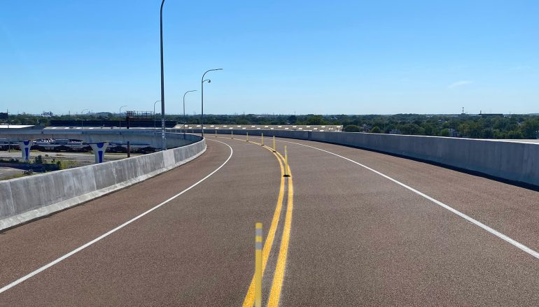 Cline Avenue Bridge Overlay Project Complete